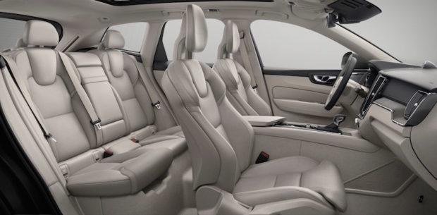 Neuer Volvo XC60 Sitze