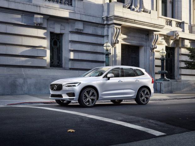 Neuer Volvo XC60 weiss