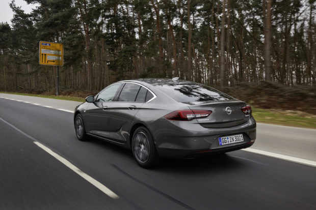 Opel Insignia Grand Sport Grau