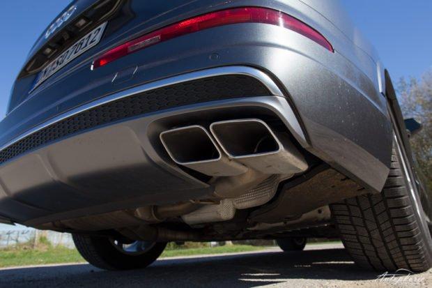 Audi SQ7 Auspuff