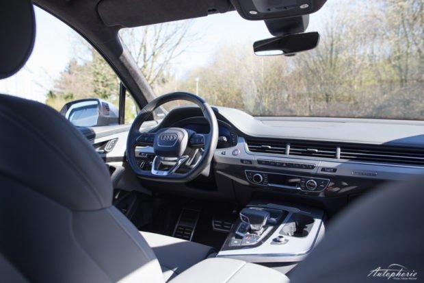 Audi SQ7 Cockpit