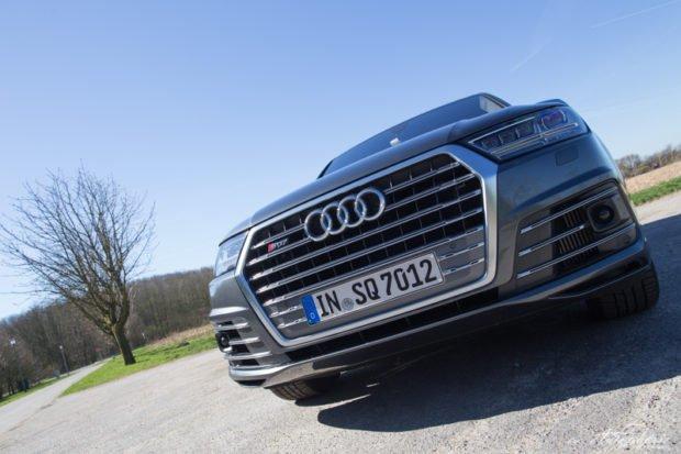 Audi SQ7 Grill