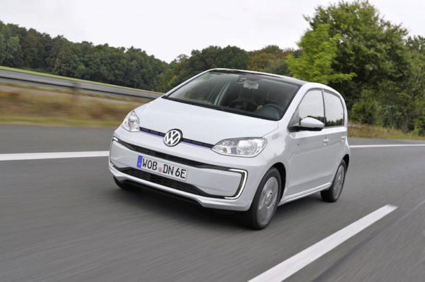 Volkswagen e-up Frontal