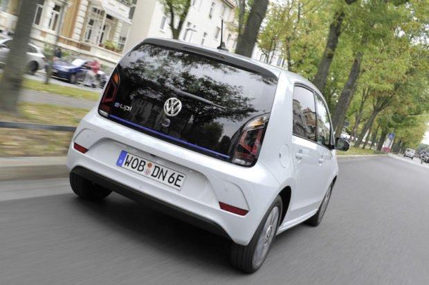 Volkswagen e-up Heckansicht