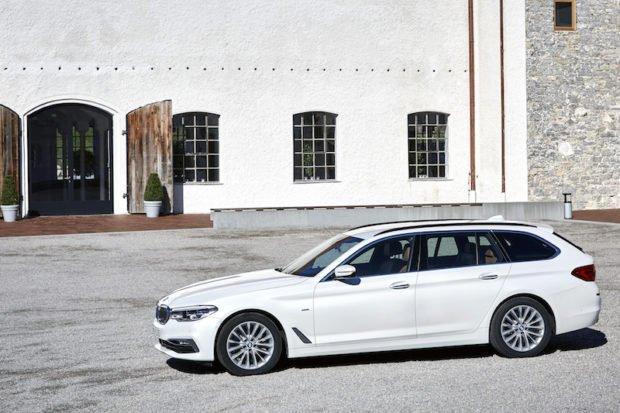 BMW 5er Touring Luxury Line Seitenansicht