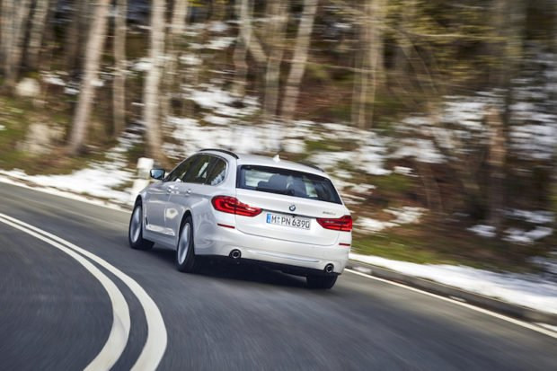 BMW 5er Touring Luxury Line Heck