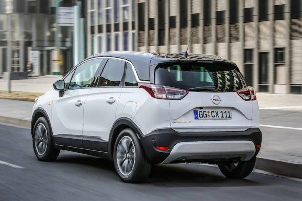 Opel Crossland X schwarzes Dach