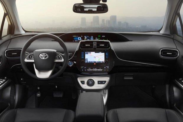 Innenraum Toyota Prius