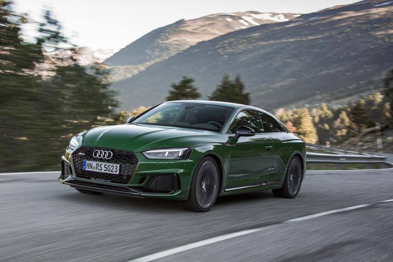 2017 Audi Rs5 Excklusive Gruen 5 Autophorie De