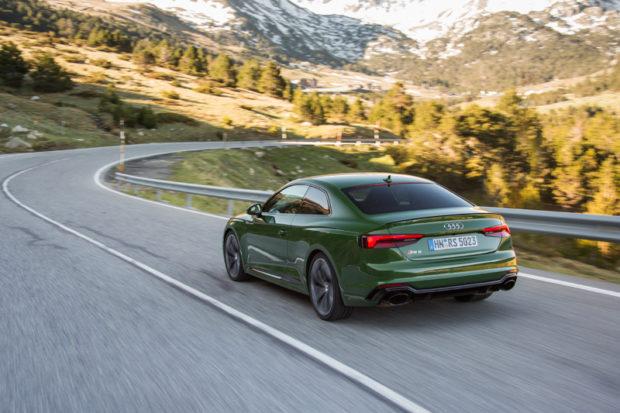 Audi RS5 Heckaufnahme