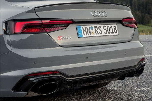 Audi RS5 Sport-Abgasanlage
