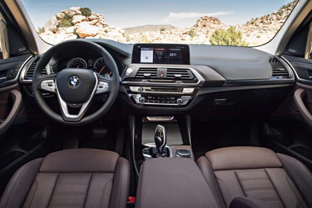 BMW X3 G01 Interieur