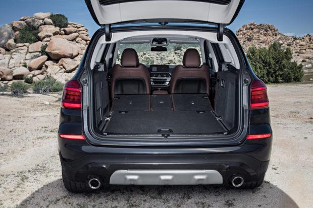 BMW X3 G01 Kofferraum