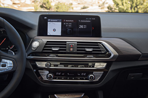 BMW X3 G01 Touchscreen