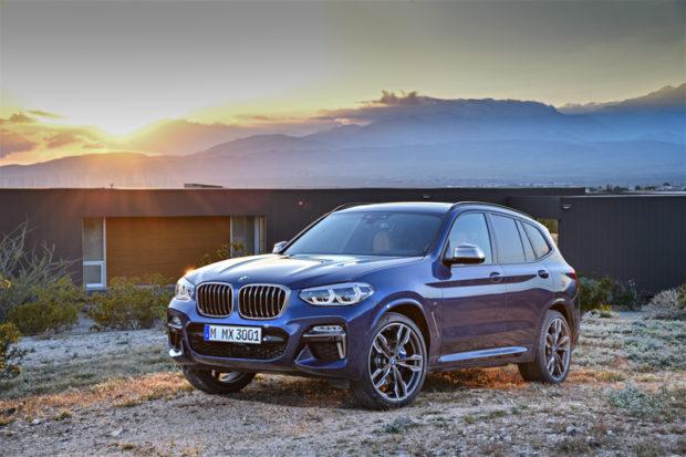BMW X3 M40i G01 Frontal