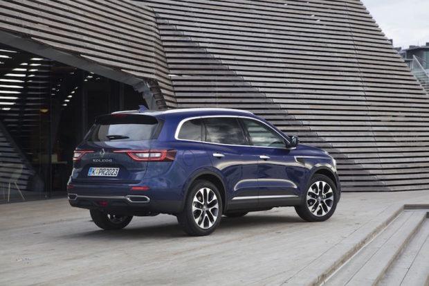 Heckansicht Renault Koleos