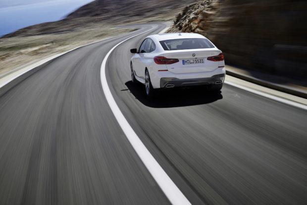 BMW 6er Gran Turismo Heck