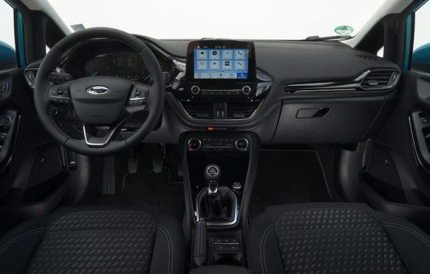 Ford Fiesta 2017 Innenraum mk8