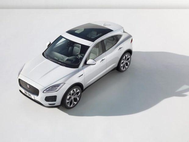 Jaguar E-Pace Draufsicht