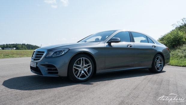 Mercedes-Benz S 500 Seitenansicht