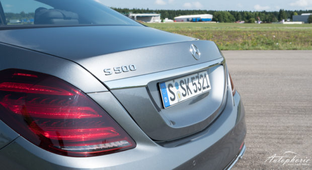 Mercedes-Benz S 500 Heck Detail