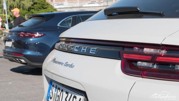 Porsche Panamera Sport Turismo Schriftzug