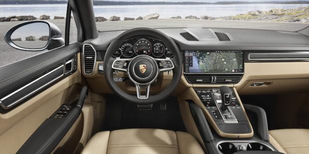 2018 Porsche Cayenne Cockpit