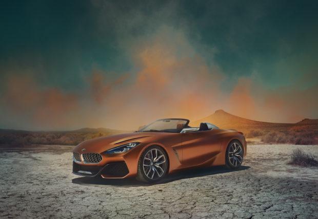 BMW Concept Z4 Front