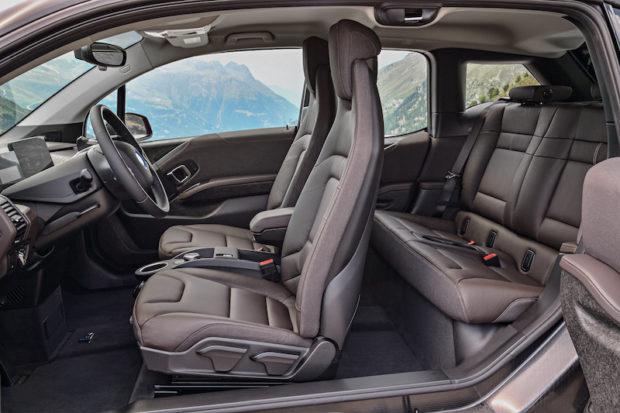 2018 BMW i3s Innenraum