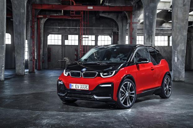 2018 BMW i3s frontal