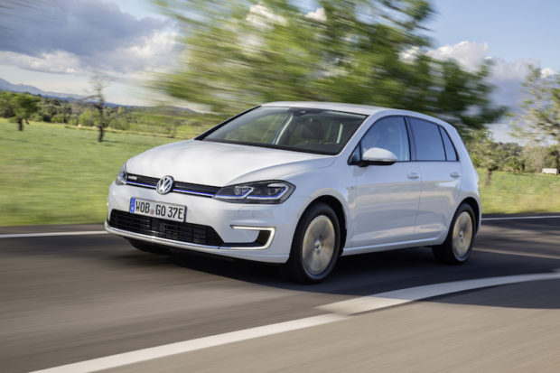 VW e-Golf Facelift 2017