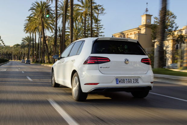 VW e-Golf Facelift Heck
