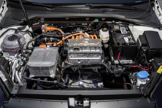 VW e-Golf Facelift 2017 Motor