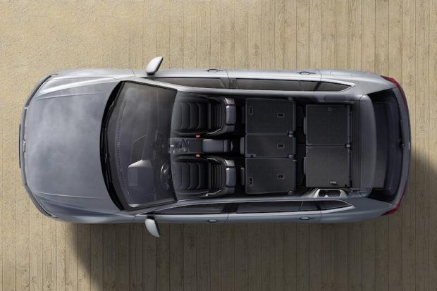 VW Tiguan Allspace Kofferraumvolumen