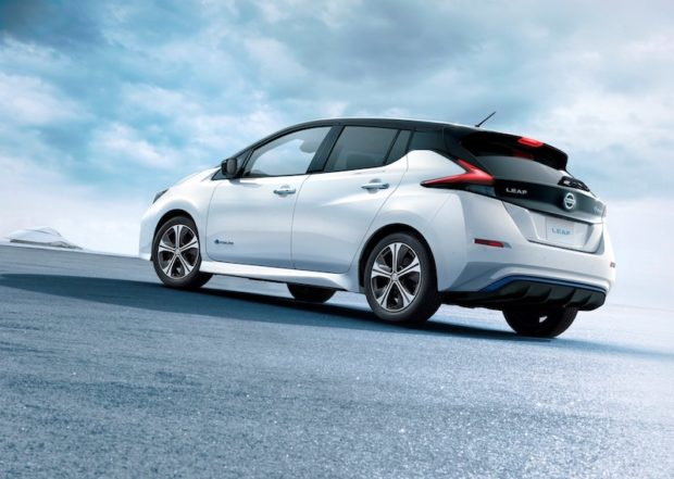 Neuer Nissan LEAF Heck