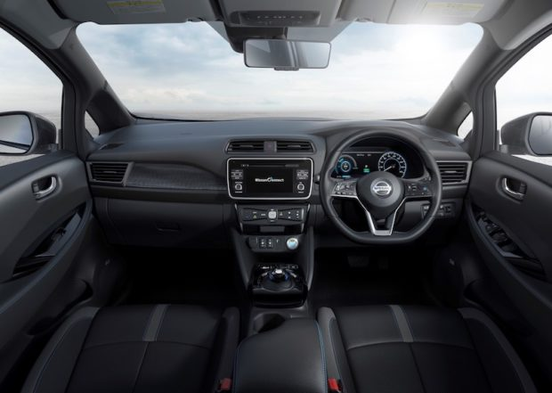 Neuer Nissan LEAF Cockpit