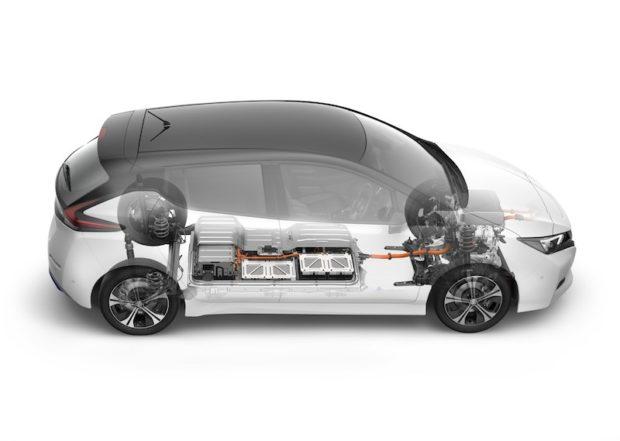 Neuer Nissan LEAF Batterie