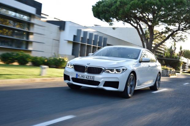 BMW 6er Gran Turismo Front