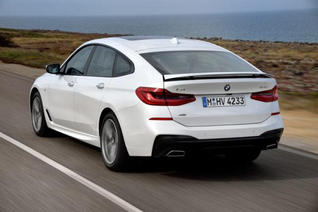 BMW 6er Gran Turismo Heckspoiler