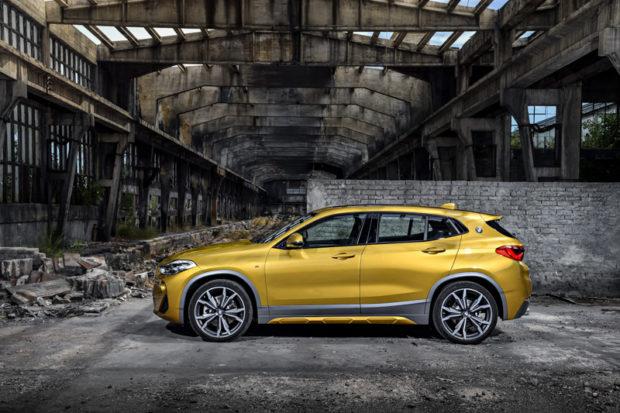 BMW X2 F39 M Sport X Seite