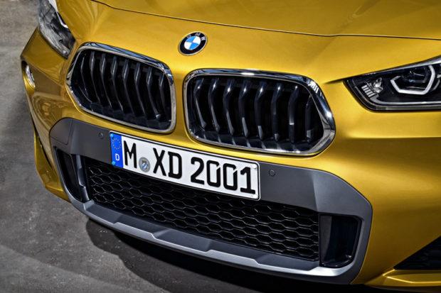 BMW X2 F39 M Sport X Grill