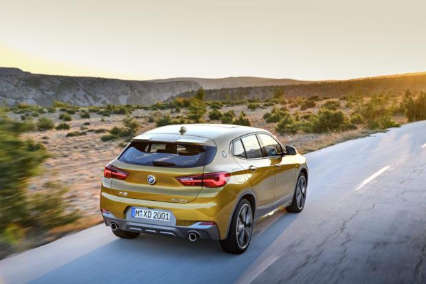BMW X2 F39 M Sport X Heck