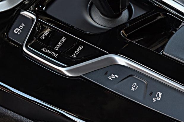 BMW X3 M40i Modes