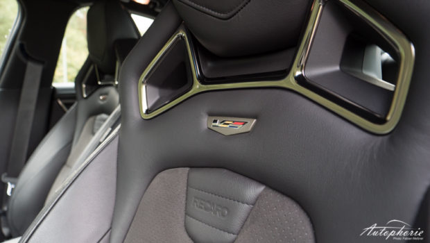 Cadillac ATS-V Sitze Detail