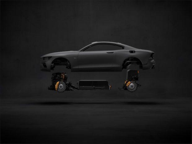 Polestar 1 Carbon-Karosserie