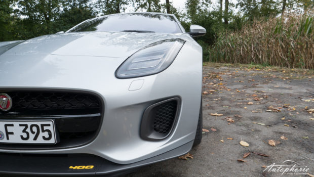 F-Type 400 Sport Front