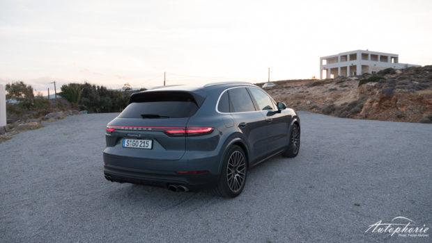 2018 Porsche Cayenne S Heck