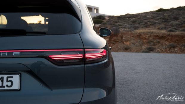 2018 Porsche Cayenne S Schulterlinie