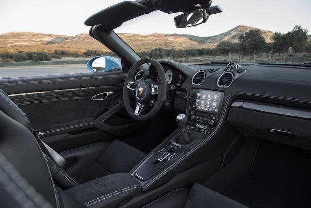 Porsche 718 GTS Boxster Interieur