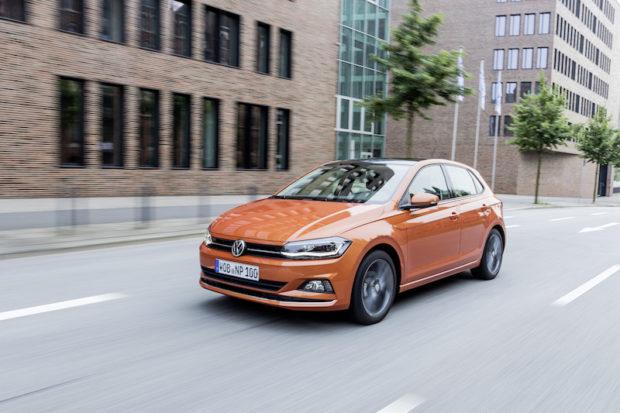VW polo TGI Erdgas Front